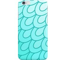 Scales Turquoise. iPhone Case/Skin