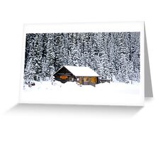 Lake Louise, Alberta Canada Greeting Card