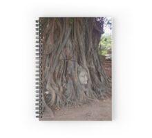 Buddha in Wat Mahathat Thailand Spiral Notebook
