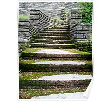 Cemetery Steps Poster