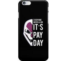 PAYDAY HOXTON REBORN : WHITE iPhone Case/Skin