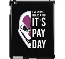 PAYDAY HOXTON REBORN : WHITE iPad Case/Skin