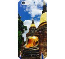 Wat Yai Chaimongkon Thailand iPhone Case/Skin