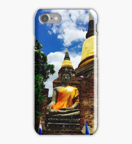 Wat Yai Chaimongkon Thailand iPhone Case/Skin