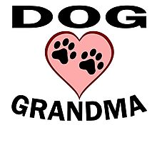Dog Grandma Photographic Print