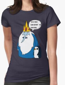 iceking Womens Fitted T-Shirt