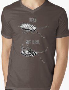 Dead. Not Dead. Roaches Mens V-Neck T-Shirt