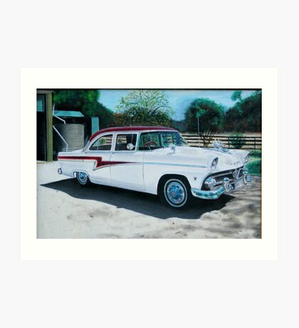 1959 Ford Customline Art Print