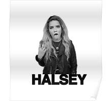 HALSEY B&W Poster