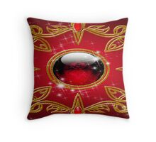 The Cursed Chaos Jewel Throw Pillow