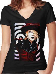 Ruki - The Gazette Women's Fitted V-Neck T-Shirt