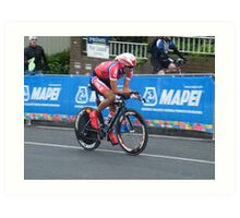 UCI WORLD CYCLING CHAMPIONSHIPS 2010 Art Print