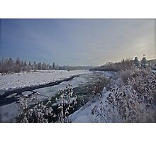 B e l v e d e r e  -   White  Dunajec River (POLAND).  by Brown Sugar . Merry Christmas Greetings from Poland   thx ,  Views (421) favorited by (5) Thx! featured in Lakes and Inland Waterways. Photographic Print