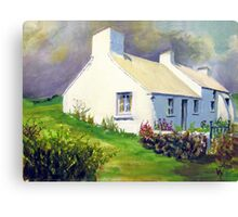 Porthclais Cottage Canvas Print