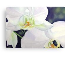 Tropical Grace - floral artwork Canvas Print