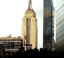 Empire State Building by bvesh707