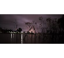 Wimmera River at Night  Photographic Print