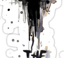 The Crow - Eric Draven Crow eye Sticker
