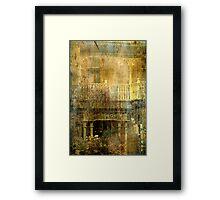 """The Balcony ..."" Framed Print"