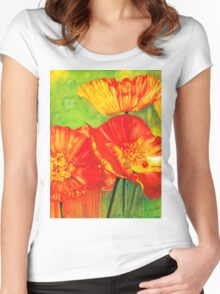 Hot Poppies Women's Fitted Scoop T-Shirt