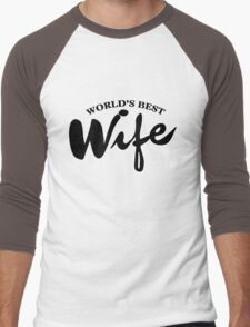 World's best wife Men's Baseball ¾ T-Shirt