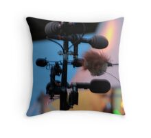 Travelin' on Down the Line Throw Pillow