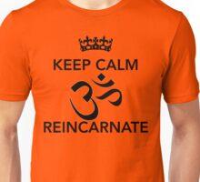 Keep Calm Om Reincarnate 5 Unisex T-Shirt