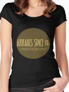 Dune - Arrakis Spice co. (version 2) Women's Fitted Scoop T-Shirt