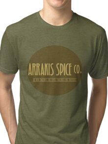 Dune - Arrakis Spice co. (version 2) Tri-blend T-Shirt