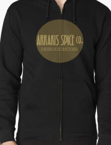 Dune - Arrakis Spice co. (version 2) Zipped Hoodie