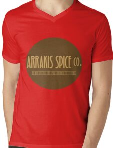 Dune - Arrakis Spice co. (version 2) Mens V-Neck T-Shirt