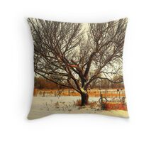Fresh Dusting of Snow ! Throw Pillow