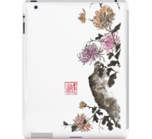 Touch of color sumi-e painting iPad Case/Skin