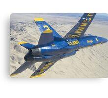 Blue Angels Aircraft Canvas Print