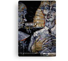 BLAK lock Canvas Print
