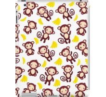 funny brown monkey  iPad Case/Skin