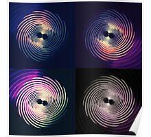 Four Spirals 001 Poster