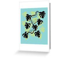 chameleon squad Greeting Card