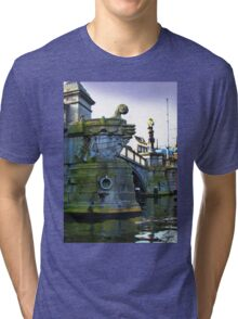 Canals Of Amsterdam IV Tri-blend T-Shirt