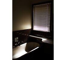 Gloomy Bath Photographic Print