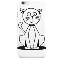 Cat small young funny goofy sweet iPhone Case/Skin