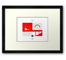 PKMNML #100-101 Framed Print