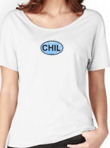 Chillmark - Martha's Vineyard. Women's Relaxed Fit T-Shirt