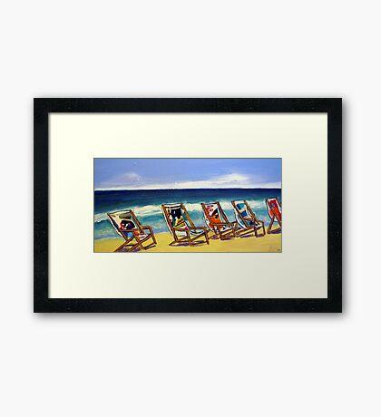 Relax ! Framed Print