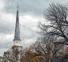 The Steeple at First Baptist by suzannem73