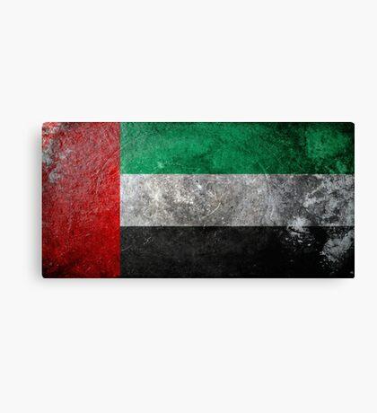 UAE Grunge Canvas Print