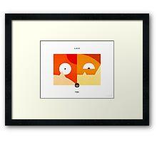 PKMNML #098-099 Framed Print