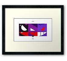 PKMNML #092-094 Framed Print