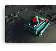 Toy Space Tank 2 Canvas Print