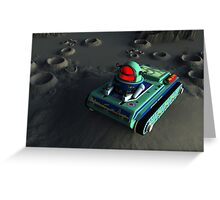 Toy Space Tank 2 Greeting Card